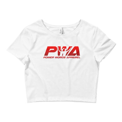 PWA Crop Tee - Power Words Apparel