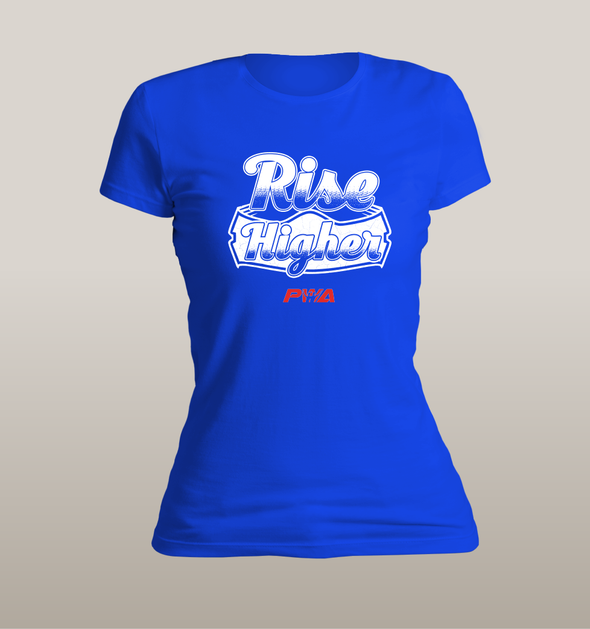 Rise Higher Women's - Power Words Apparel