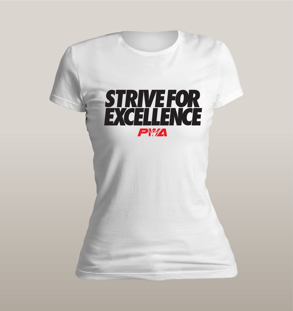 Strive for Excellence Women's - Power Words Apparel