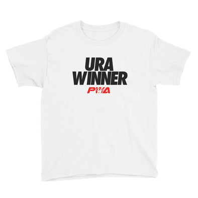 URA winner Youth Short Sleeve T-Shirt - Power Words Apparel