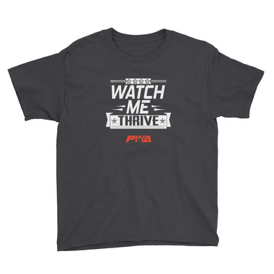 Watch me Thrive Youth Short Sleeve T-Shirt - Power Words Apparel