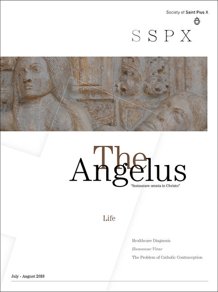 "New issue of The Angelus compliments 2018 Angelus Press Conference:  ""LIFE"""