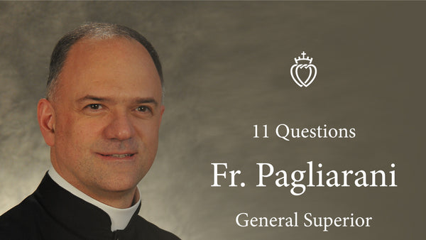 First English Interview with Fr. Pagliarani