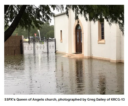 Update on Flooding in Texas Chapels - Dickinson and Spring, TX
