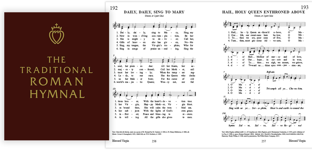 The Traditional Roman Hymnal - Angelus Press