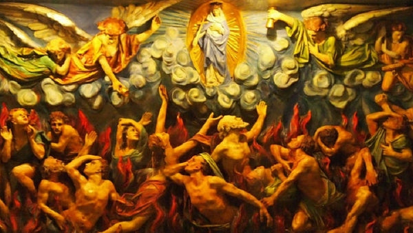 During This Month of November, Let Us Pray for the Poor Souls in Purgatory