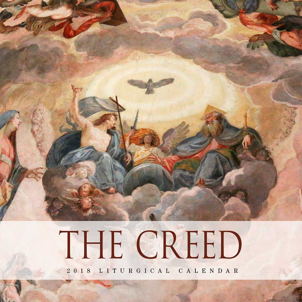2018 liturgical calendar the creed