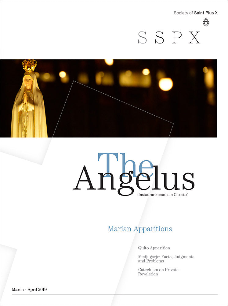 Angelus March April 2019 Marian Apparitions