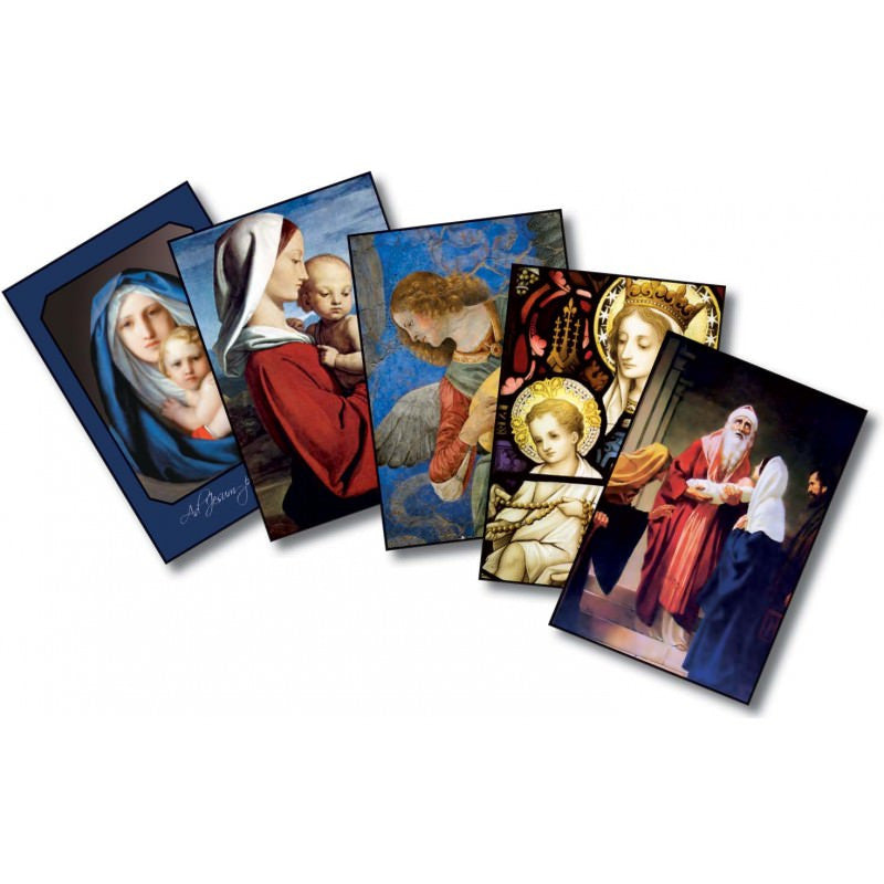 Christmas Cards: The Mother And Child (20/Box) - Angelus Press