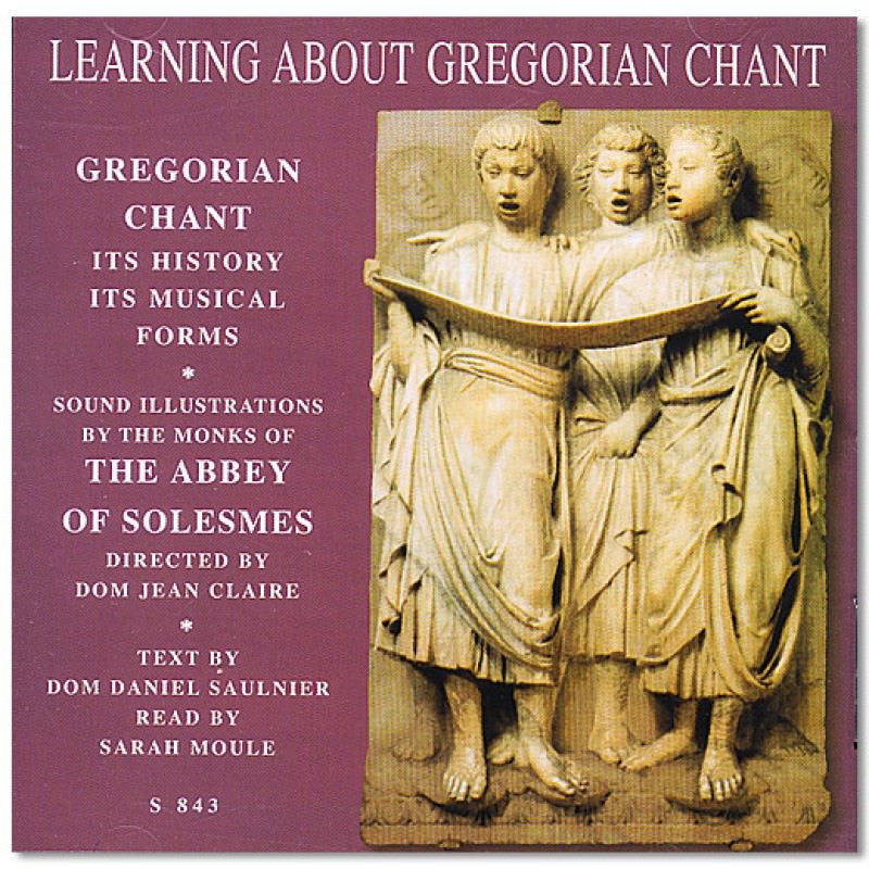 Learning about gregorian chant angelus press cd learning about gregorian chant fandeluxe Images