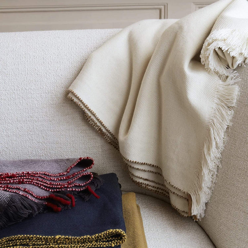 Ferm Living Herringbone Blanket
