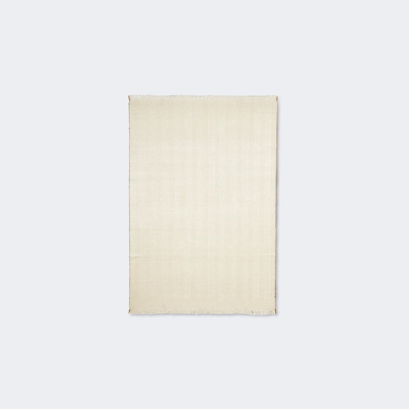 Ferm Living Herringbone Blanket Off-White