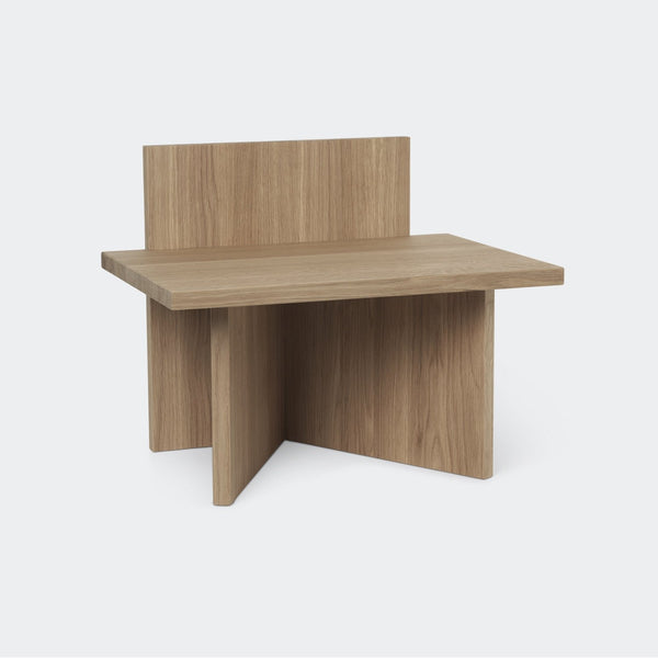 Ferm Living Oblique Stool Oak
