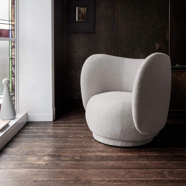 Ferm Living Rico Lounge Chair - Bouclé