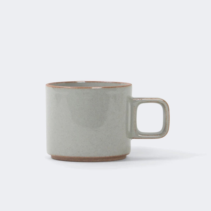 Hasami Porcelain Mug in Gloss Gray 11 oz.