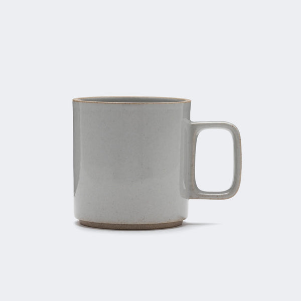 Hasami Porcelain Mug in Gloss Gray 13 oz.