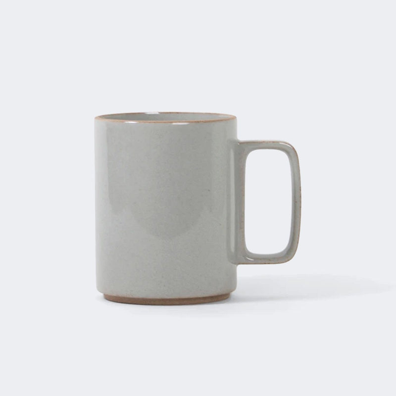 Hasami Porcelain Mug in Gloss Gray 15 oz.