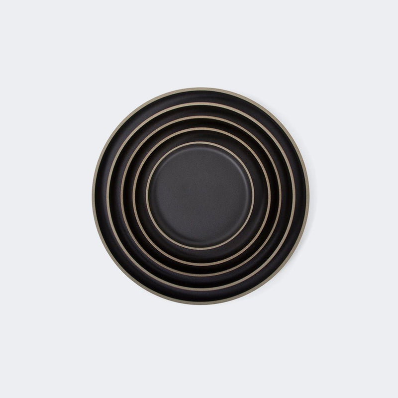 Hasami Porcelain Plate in Black