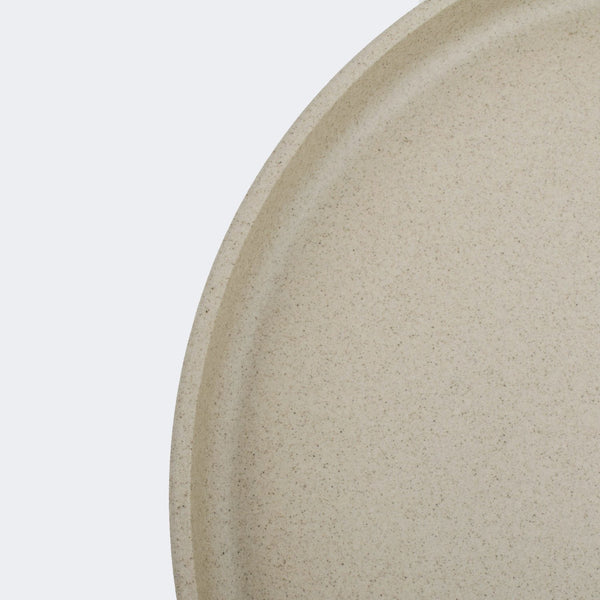 Hasami Porcelain Plate in Natural