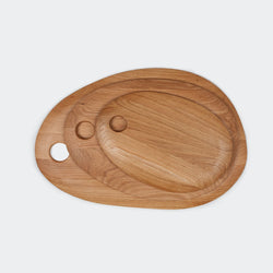 Hawkins New York Simple Cutting Board in Oak