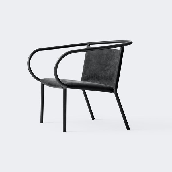 MENU Afteroom Lounge Chair Anthrazit/Dunes