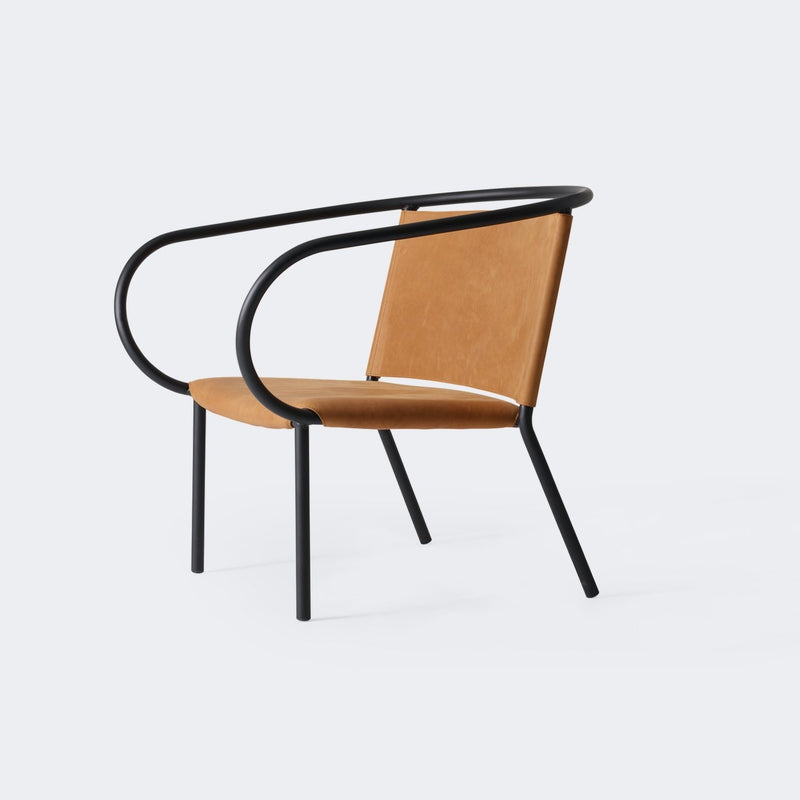 MENU Afteroom Lounge Chair Cognac/Dunes