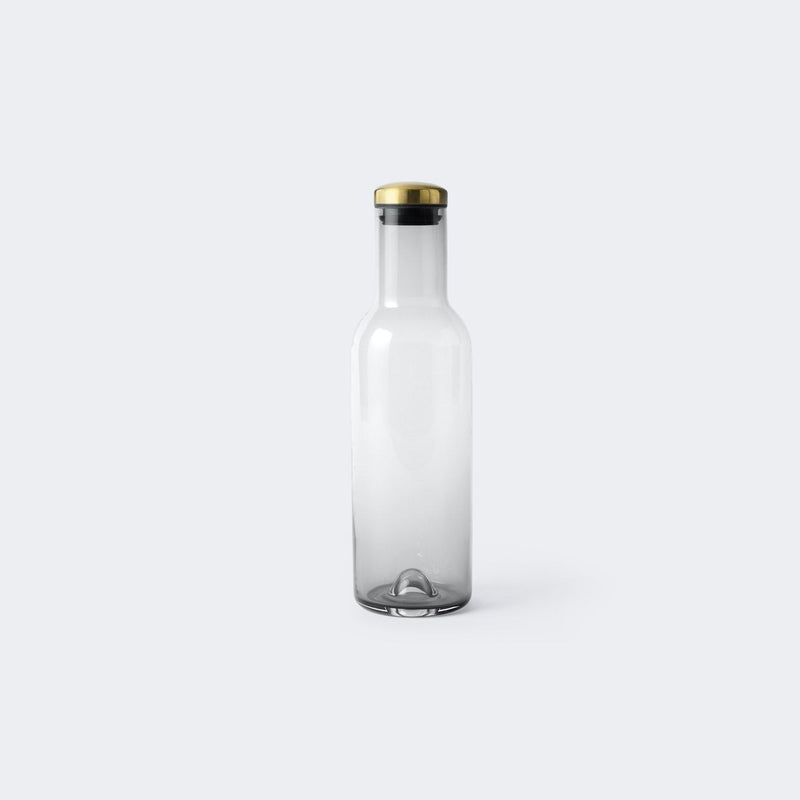 MENU Bottle Carafe with Brass Lid