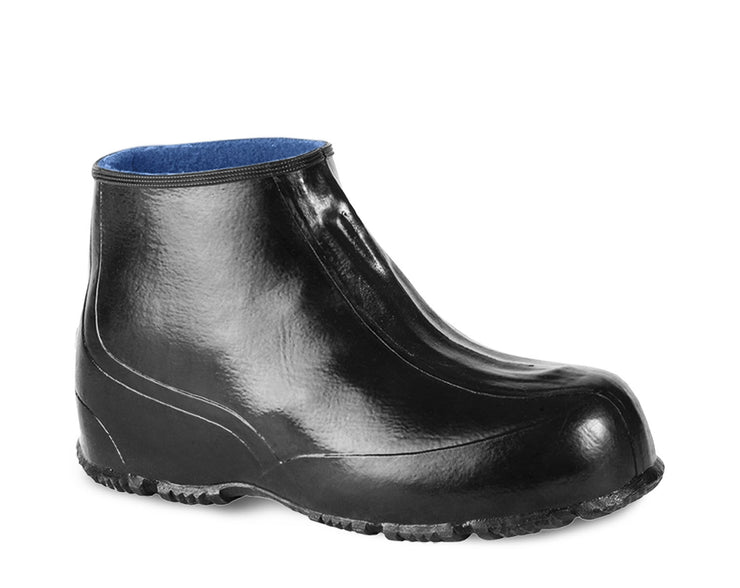 A3223-11, Acton Prince, Natural Rubber Waterproof Overshoes (Black)