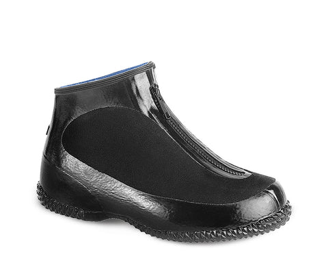 A3231-11, Acton Joule, Natural Rubber & Nylon Waterproof Overshoes (Black)