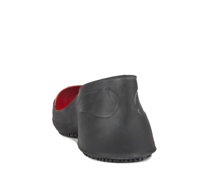 OSH002 (ARC), STEEL toe Cap Chemical Resistant Natural RUBBER Safety Overshoes (Color Coded by Size) - OSHATOES.com