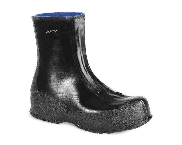 A3246-11, Bradford, Work Overshoes, Natural Rubber (Black) - OSHATOES.com