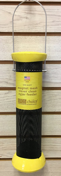 Clever Clean Magnet Mesh Nyjer Mesh Thistle Feeder.