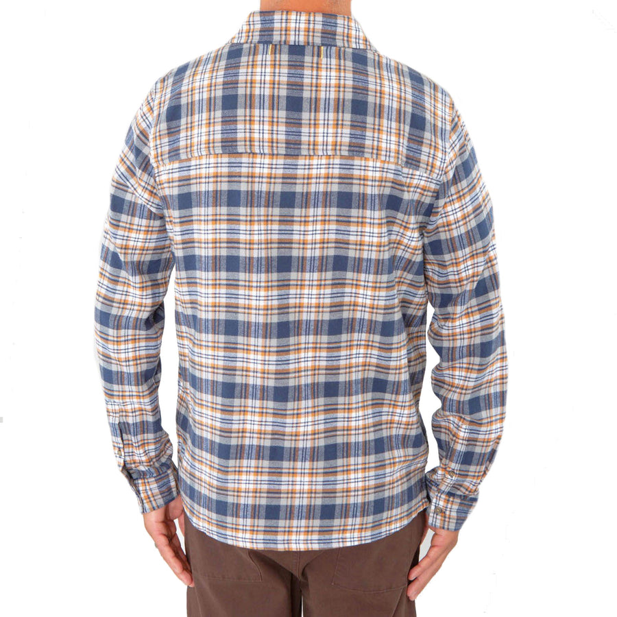 Plaid Daisen Shirt Made With our Sustainable 100% Organic Cotton-Roamers Brand