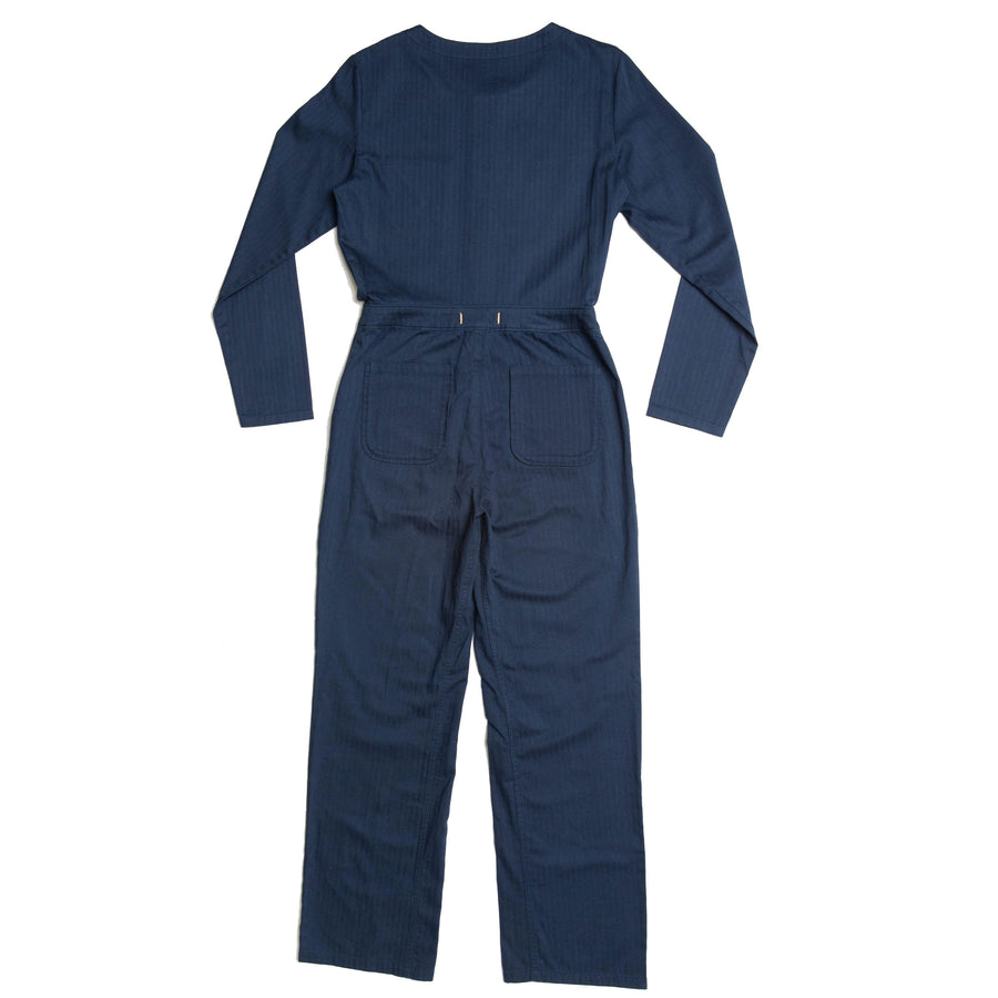 Madryn Coveralls Made With Our Sustainable 100% Organic Cotton Herringbone-Roamers Brand
