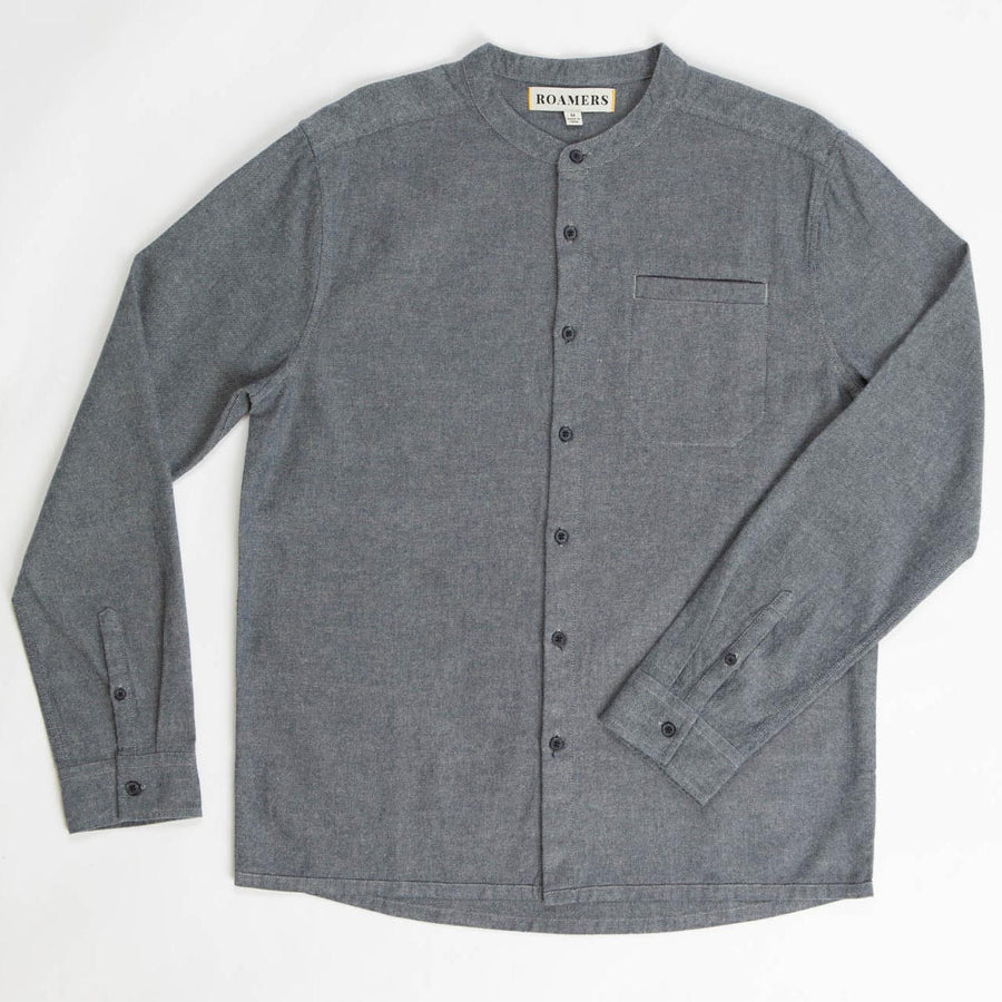 Mills Shirt Made With Our Sustainable 100% Organic Cotton-Roamers Brand