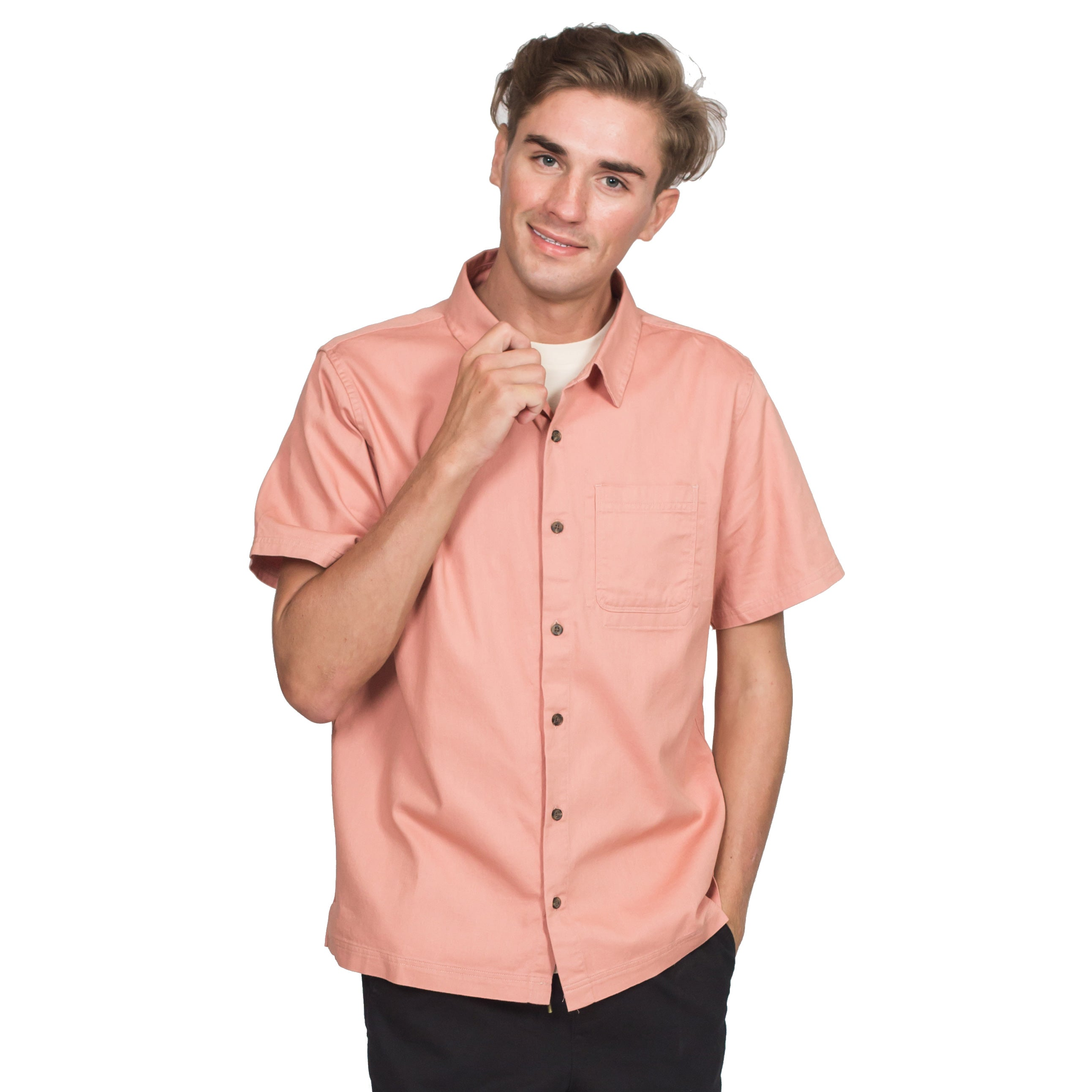 Vaughn Short Sleeve Shirt-Roamers Brand