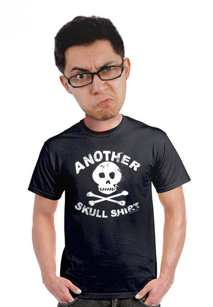 another skull t-shirt unisex