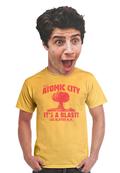 atomic city unisex t-shirt