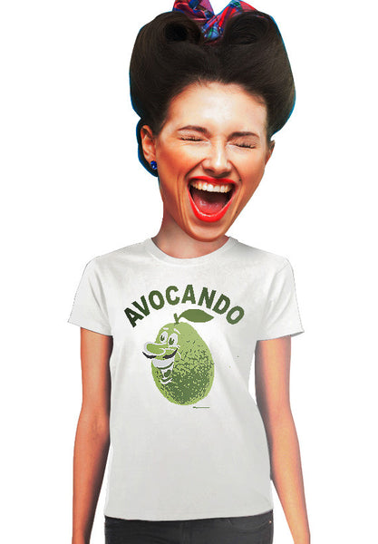 avocando avocado womens t-shirt