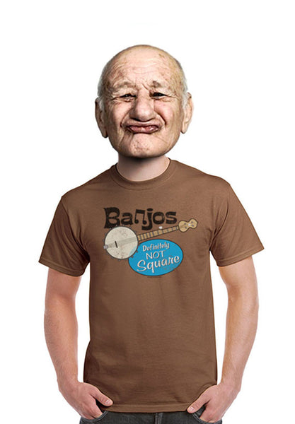 banjo are not square t-shirt