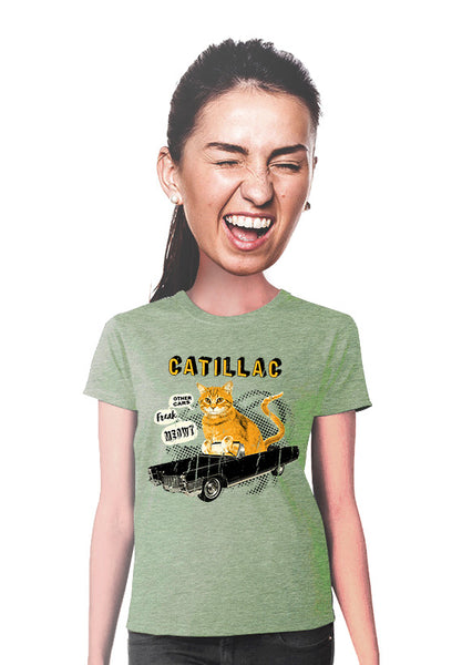 catillac cat t-shirt