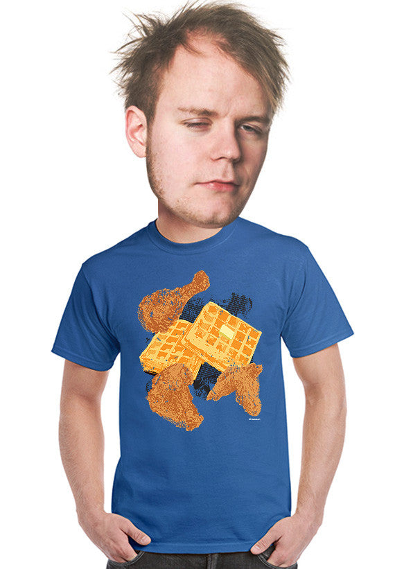 chicken and waffles unisex t-shirt