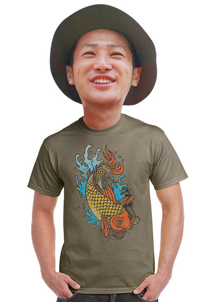 japanese koi fish t-shirt