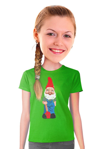 garden gnome women t-shirt