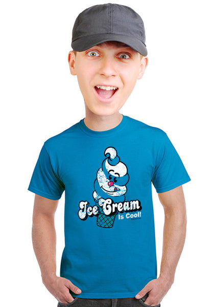 ice cream is cool t-shirt