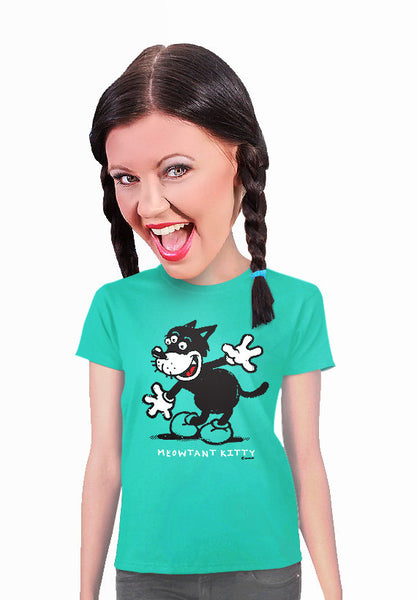 meowtant kitty cat lover t-shirt