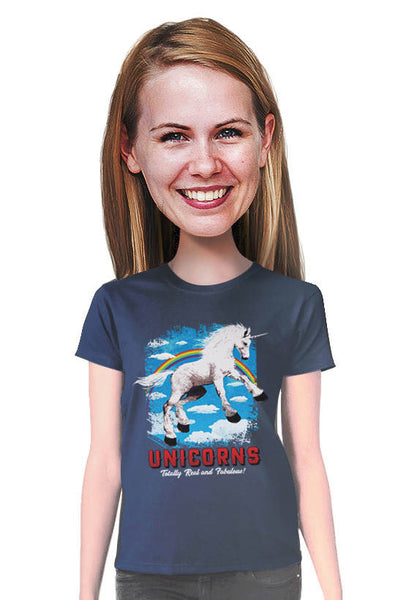 unicorns are fabulous tshirt