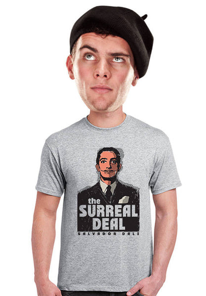 salvador dali  surreal deal t-shirt