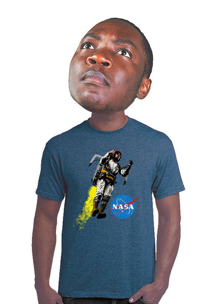 nasa jetpack t-shirt