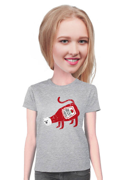 cat catsup t-shirt